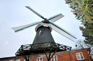 Die Braaker Mühle produziert für die eigene Backstube.
