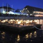 Tausende Besucher bestaunten 1. Hafenfeuer